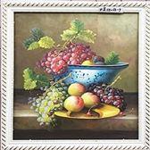 【風水油畫】水果畫1 純手繪油畫(連框)-含運價