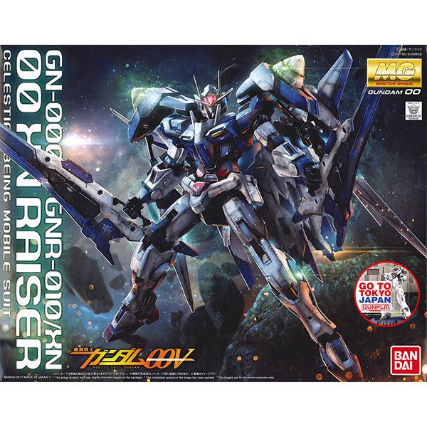 鋼彈00 BANDAI組裝模型 MG 1/100 GN-0000+GNR-010/XN 00 XN RAISER 00斬擊強化模組