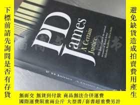 二手書博民逛書店A罕見Certain Justice【36開 英文原版】Y16472 9780140274684 Pengui