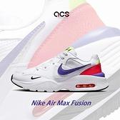 Nike 休閒鞋 Air Max Fusion AMD 白 藍 紅 氣墊 男鞋 復古外型【ACS】 DD2316-100