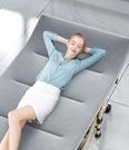 折疊床 單人家用午休午睡椅單人簡易辦公室躺椅神器便攜行軍床【快速出貨八折鉅惠】