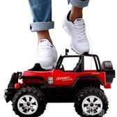 玩具車遙控車越野車攀爬充電遙控汽車兒童玩具男孩玩具車賽車大腳車(29公分長) igo 喵小姐