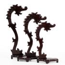 紅木工藝品木雕擺件 黑梓木新龍頭首飾吊玉架 掛玉架首飾架裝飾架