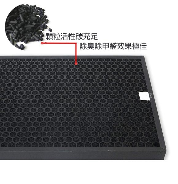 適用小米 米家 MAX 空氣清淨機 空氣淨化器 HEPA活性碳濾網心組-兩片裝