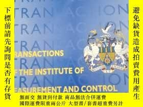 二手書博民逛書店TRANSACTIONS罕見OF THE INSTITUTE OF MEASUREMENT AND CONTROL