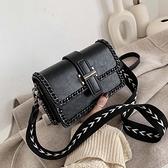 質感網紅小包包女包2021新款潮時尚爆款鍊條側背包百搭流行斜背包 韓國時尚週