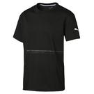 Puma Energy 男 黑色 短袖 上衣 基本系列 棉質 短T 圓領衫 短袖T恤 51732010