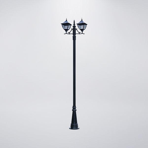 日式戶外庭園燈 雙燈防水型 可客製化 可搭配LED