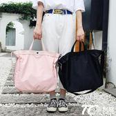 旅行包 女手提行李包男韓版短途大容量帆布小行李袋輕便簡約健身包
