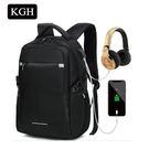 KGH 旅遊背包 休閒商務電腦背包 韓版時尚學生背包 旅行雙肩包 03RR6133