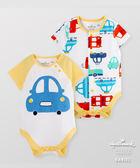 Hallmark Babies 純棉玩具車短袖包屁衣(兩件裝) HG1B0204BBPN