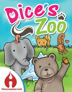 書立得-骰子動物園(動物骰) (Dice s Zoo)(HSLDIC)