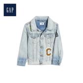 Gap男幼童星際大戰系列長袖牛仔外套496083-中度水洗