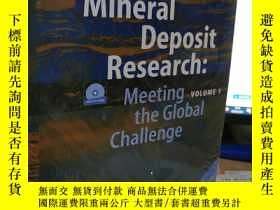 二手書博民逛書店Mineral罕見Deposit Research 1 ,2 【2本合售】Y7849 n, Frank P.