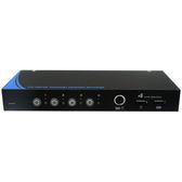 【免運費】NuSwitch CD-104C 4 PORT PS2/USB KVM 電子式電腦切換器