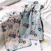 2021夏季新款女童中國風古裝短袖旗袍裙子女寶寶潮時尚洋裝6697 幸福第一站