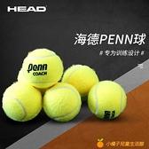 網球練習訓練球黃金球比賽用球有壓高彈耐打【小橘子】