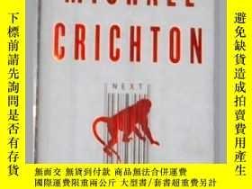 二手書博民逛書店《罕見Next 》Michael Crichton 著 英文原版