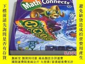 二手書博民逛書店美國課本五年級罕見Math Connects 5Y16259 M