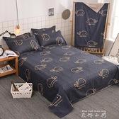 床單單件學生宿舍雙人床1.8米1.5m網紅兒童卡通1.2被單ins風少女