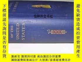 二手書博民逛書店【罕見】1905年紐約出版《美國總統1789-1905》建築與肖