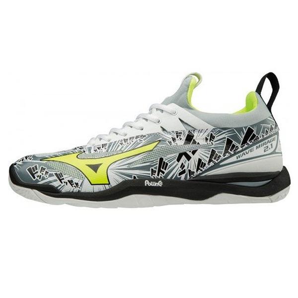 MIZUNO 18FW 高階款 男手球鞋 WAVE MIRAGE 2.1系列X1GA185048 贈專業運動襪【樂買網】