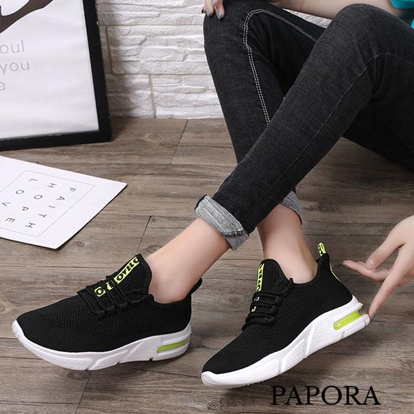 PAPORA輕量透氣休閒運動布鞋K888