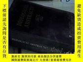 二手書博民逛書店BIOLOGICAL罕見ABSTRACTS VOLUME 110 NUMBER 18 2003 生物學文摘第110
