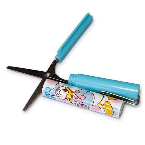 《sun-star》迪士尼 stickyle攜帶型剪刀(唐老鴨點點)★funbox生活用品★_UA50127