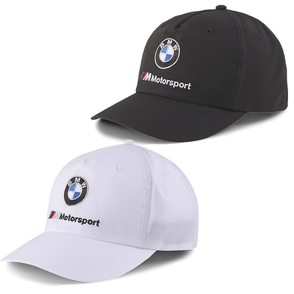 【現貨】PUMA BMW 帽子 老帽 棒球帽 聯名款 黑 / 白 【運動世界】02309101 / 02309102
