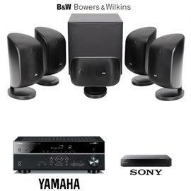 【音旋音響】Bowers & Wilkins 英國 B&W MT-50+YAMAHA 擴大機 精省劇院組合 公司貨 免運