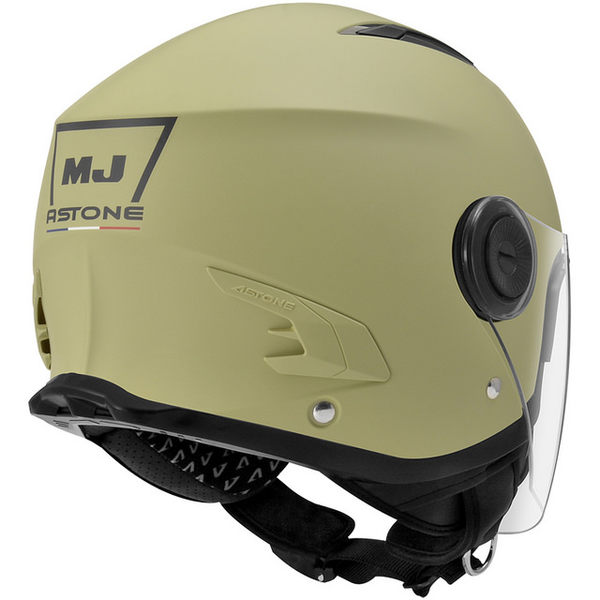 ASTONE安全帽,MJ 617,素色/消光綠