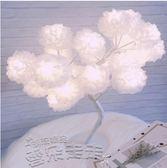 LED彩燈臥室星星創意小臺燈裝飾少女心房間布置燈浪漫禮物 雲朵走走