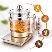 養生壺全自動加厚玻璃燒水壺花茶壺多功能電煮茶器igo220v爾碩數位3c