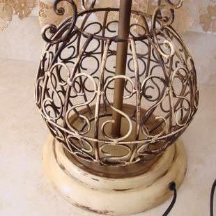 金屬工藝仿古典落地燈