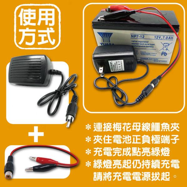 充電器 12V300mmA 玩具車電池充電機 照明燈電池 兒童車電池 磅秤電池 充電機