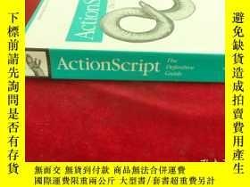 二手書博民逛書店ActionScript:罕見The Definitive Gu