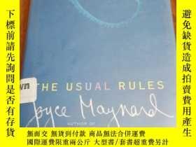 二手書博民逛書店The罕見Usual Rules: A NovelY12800