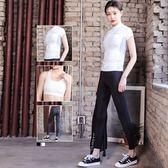 瑜珈服運動套裝(三件套)-韓版時尚吸濕排汗女健身衣2色73mt12[時尚巴黎]