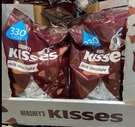 [COSCO代購] C600575 HERSHEY S KISSES CHOCO.牛奶巧克力 1.58公斤