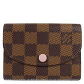 Louis Vuitton LV N64423 Rosalie 棋盤格紋信用卡零錢包 全新 現貨