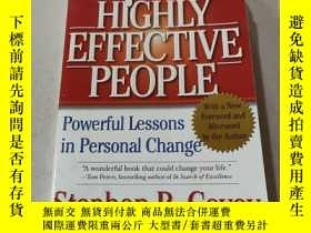 二手書博民逛書店The罕見7 Habits of Highly Effective People:高效能人士的7個習慣Y212