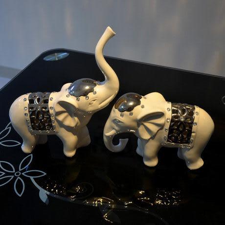 簡約現代大象擺件G037