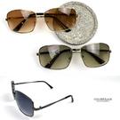 太陽眼鏡 簡約不規則金屬方框墨鏡NY451