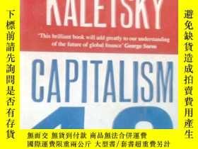 二手書博民逛書店英文原版罕見Capitalism 4.0: The Birth