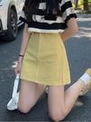 裙子女夏季2020新款ins風牛仔半身裙遮胯包臀裙高腰顯瘦a字短裙潮 果果輕時尚