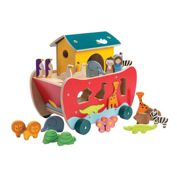 【美國Tender Leaf Toys】諾亞方舟探險記(運輸系列)