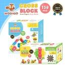 WOOHOO CROSS BLOCK 心心積木 - 138pcs 【贈束口袋2入】