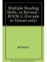 二手書博民逛書店《Multiple Reading Skills, 2e Revised - BOOK G (For sale in Taiwan only)》 R2Y ISBN:0071137289