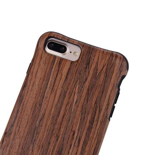 【SZ13】iPhone7/8手機殼 復古木紋軟套手機殼 iPhone 7/8plus保護軟套